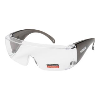 STIER Schutzbrille 3127 mit PC-Scheiben klar