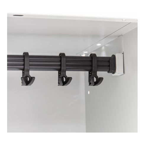 STIER Spind doppelstöckig auf Sockel 1800x500mm