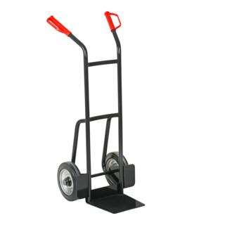 STIER Stahlrohr-Stapelkarre Vollgummi-Bereifung Traglast 200 kg