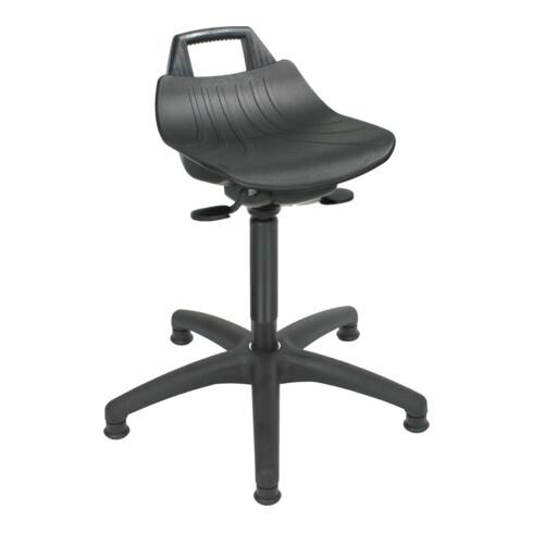 STIER Stehhilfe mit Gleitern Sitzhöhe 490-680 mm PP-Sitz