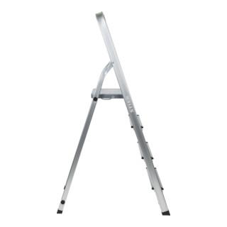 STIER Stehleiter mit Plattform einseitig begehbar 150 kg DIN EN 131
