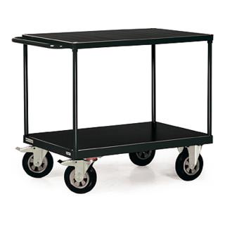 STIER Tischwagen Profi 2 Ladeflächen