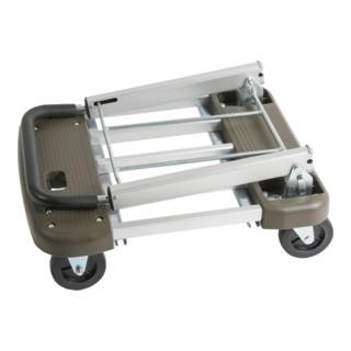 STIER Verstellbarer Plattformwagen klappbar Tragkraft 150kg