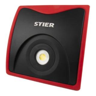 STIER Wechselakku-COB-LED-Baustrahler 5000 Lumen 50 W