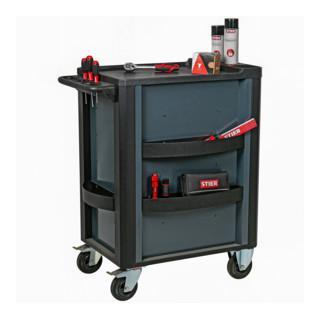 STIER Werkstattwagen Premium leer mit Kunststoffabdeckung