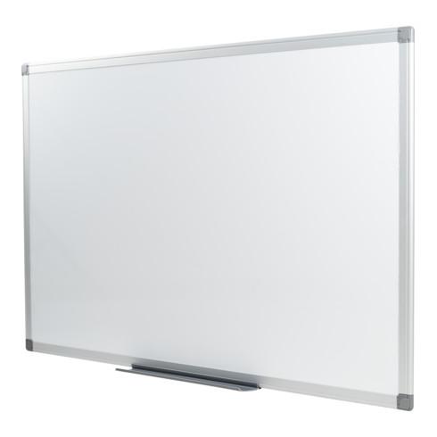 STIER Whiteboard magnetisch mit Alu-Rahmen
