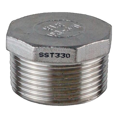 Stopfen EN 10226-1 NPS=2 Zoll 8-kant L 32,5mm SPRINGER