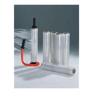 Stretchfolien-Set 1 Abroller 6 Rollen Stretchfolie 20 µm L 300 m, B 450 mm