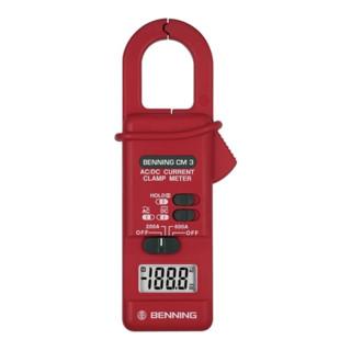 Strommesszange 0,1 A-600 A Gleich-/Wechselstr. m.Batterie/Bereitschaftst. CM 3