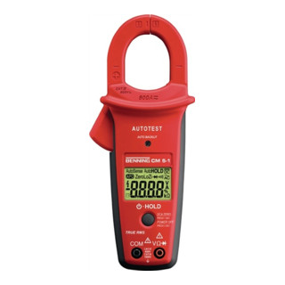Stromzangen-Multimeter 1,3 V-750 V AC 0,9 A-600 A Gleich-/Wechselstrom CM 5-1