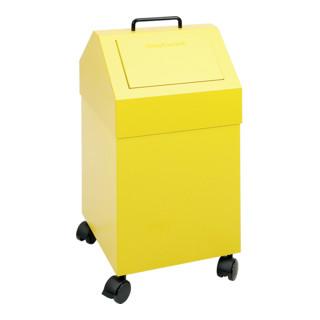 Stumpf Sortsystem 45, fahrbar, RAL 1003/1003, 45 Liter