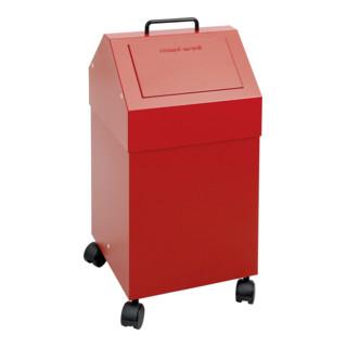 Stumpf Sortsystem 45, fahrbar, RAL 3000/3000, 45 Liter