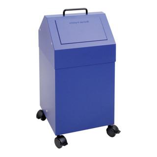 Stumpf Sortsystem 45, fahrbar, RAL 5010/5010, 45 Liter
