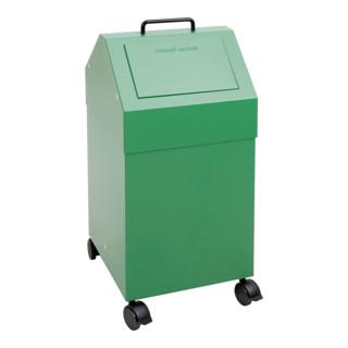 Stumpf Sortsystem 45, fahrbar, RAL 6024/6024, 45 Liter