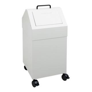 Stumpf Sortsystem 45, fahrbar, RAL 7035/7035, 45 Liter