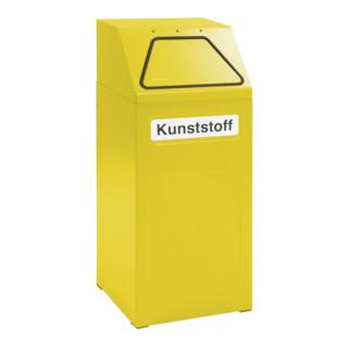 Stumpf Sortsystem 65, RAL 1003/1003, verzinkter Innenbehälter, 65 Liter