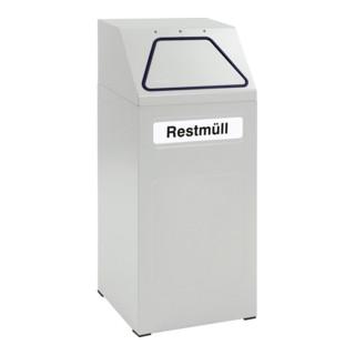 Stumpf Sortsystem 65, RAL 7035/7035, verzinkter Innenbehälter, 65 Liter