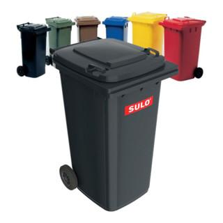 Sulo Müllgroßbehälter 80l blau a.Niederdruck-PE Rad-D.200mm