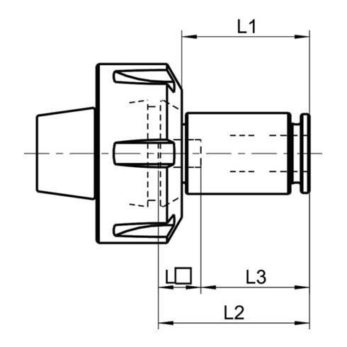 Synchroeinsatz STH 7mmx5,5mm Gr.4 f.DIN 374/376 M10 BILZ