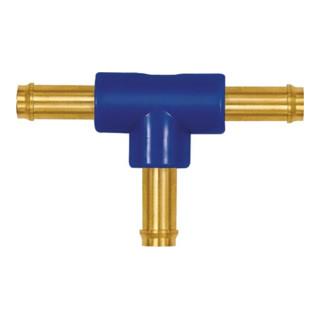 T-Schlauchverbindungsstutzen, für Schlauch LW 4 mm, Messing/POM