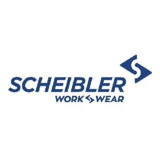 T-shirt à col en V p. femmes taille M kiwi/anthracite 50% CO / 50% PES Scheibler