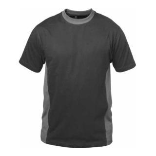 Elysee T-Shirt Madrid schwarz/grau