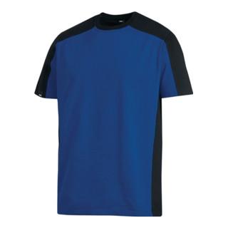 T-Shirt MARC royal/schwarz 100%Ringspinn-Baumwolle FHB schwarz