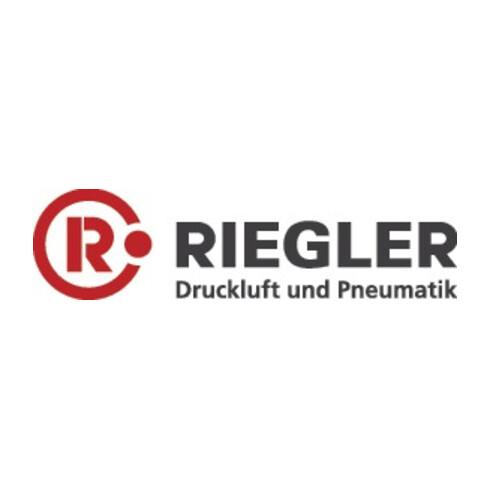 T-Steckverschr., AG 3/8 f.Schlauch-AD.10mm, MS vern. l-Form, drehb. ,RIEGLER