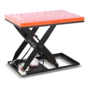 Table élévatrice à ciseaux STIER, capacité de charge 3000kg, plate-forme 1300x800mm