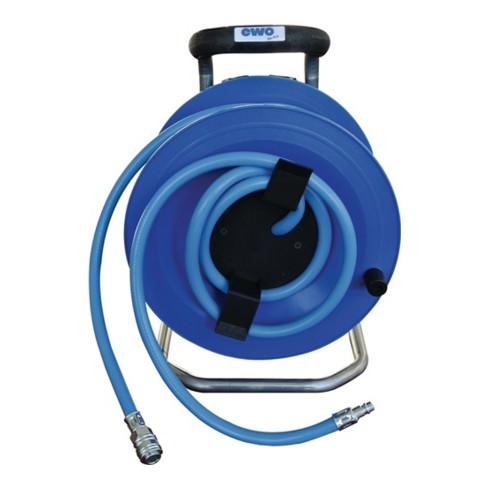 Tambour de câble à air comprimé D. int. 9 mm L. 20 m EWO
