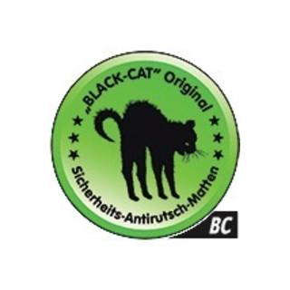 Tapis antidérapant de sécurité BLACK-CAT Original -BC- L20 cm B24 cm D3,3 mm 1 t