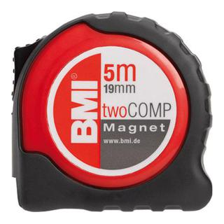BMI Taschenbandmaß twoCOMP m. Magnet