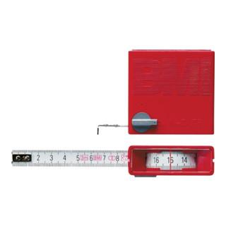 BMI Taschenrollbandmaß m. Stopptaste