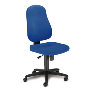 Taurosit Bürostuhl Bizzi Ohne Armlehnen Bezug In Blau