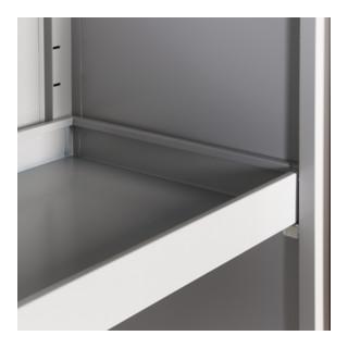 Taurotrade Fachboden mit 100 mm hohem Rand für Umweltschrank 920 mm breit