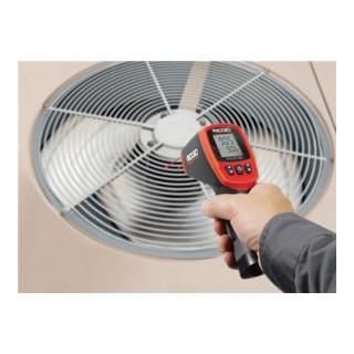 Temperatur Messgerät micro IR-200 -50bis 1200Grad Laser Kl. II m. Tasche RIDGID