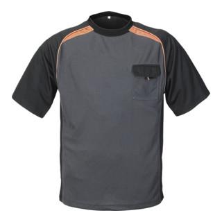 Terratrend Job T-Shirt dunkelgrau/schwarz Größe 3XL