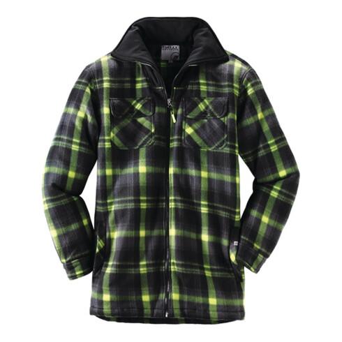 Terrax Thermohemd Workwear Gr.XL schwarz/limette