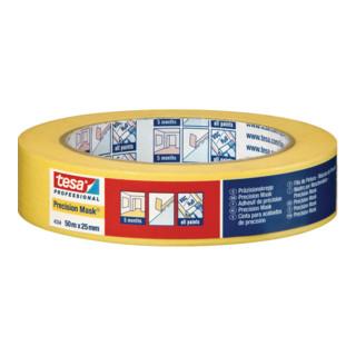 tesa® Präzisionskrepp 4334 50m x 38mm gelb