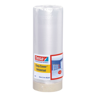 tesa Easy Cover® 4368 Folie, 33m x 1100mm, hell...
