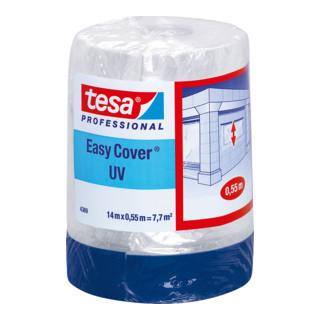 tesa Easy Cover® UV 4369 14m x 550mm matt blau