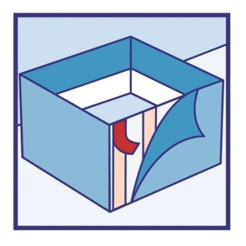 tesa Klebeband Universal 56170-00004-01 doppels. 50mmx5m