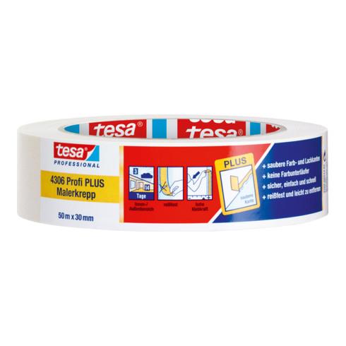 tesa® 4306 Profi PLUS Malerkrepp