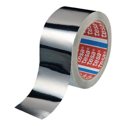 tesa® 50565 Aluminium Klebeband ohne Liner 50 m × 25 mm farblos