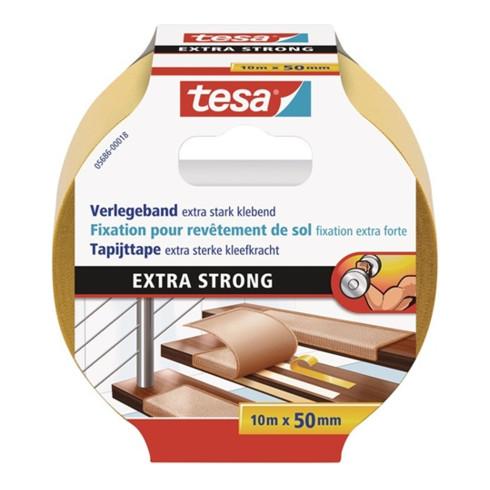 tesa® 5686 Doppelseitiges Verlegeband 10 m × 50 mm