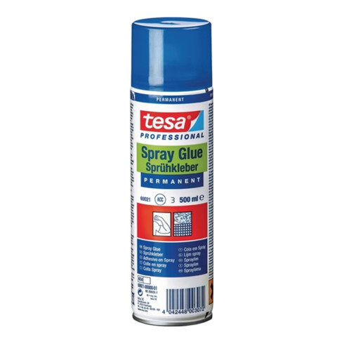 tesa® 60021 Sprühkleber permanent silikonfrei 500 ml