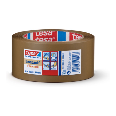 tesapack® 4124 Verpackungsklebeband PVC