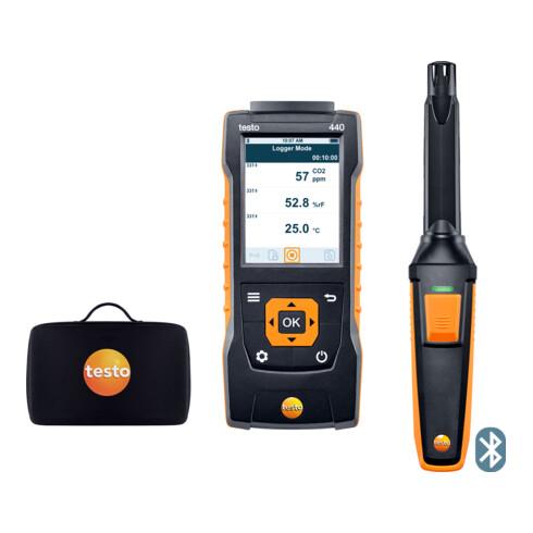 Testo 440 CO₂ -Set mit Bluetooth