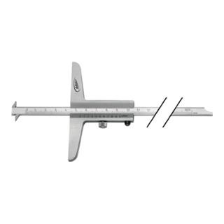HP Tiefenmessschieber DIN862 mit abgesetzter Messschiene