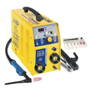 TIG Schweißa.TIG 168 DC HF gasg.m.Zub.230/50/60V/Hz 9kg GYS